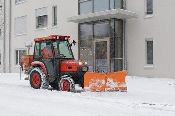 Bild eines Schneepfluges