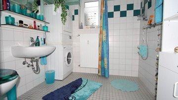 Bild eines Bads nach Umbaumaßnahmen
