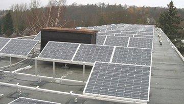 Bild einer Photovoltaikanlage