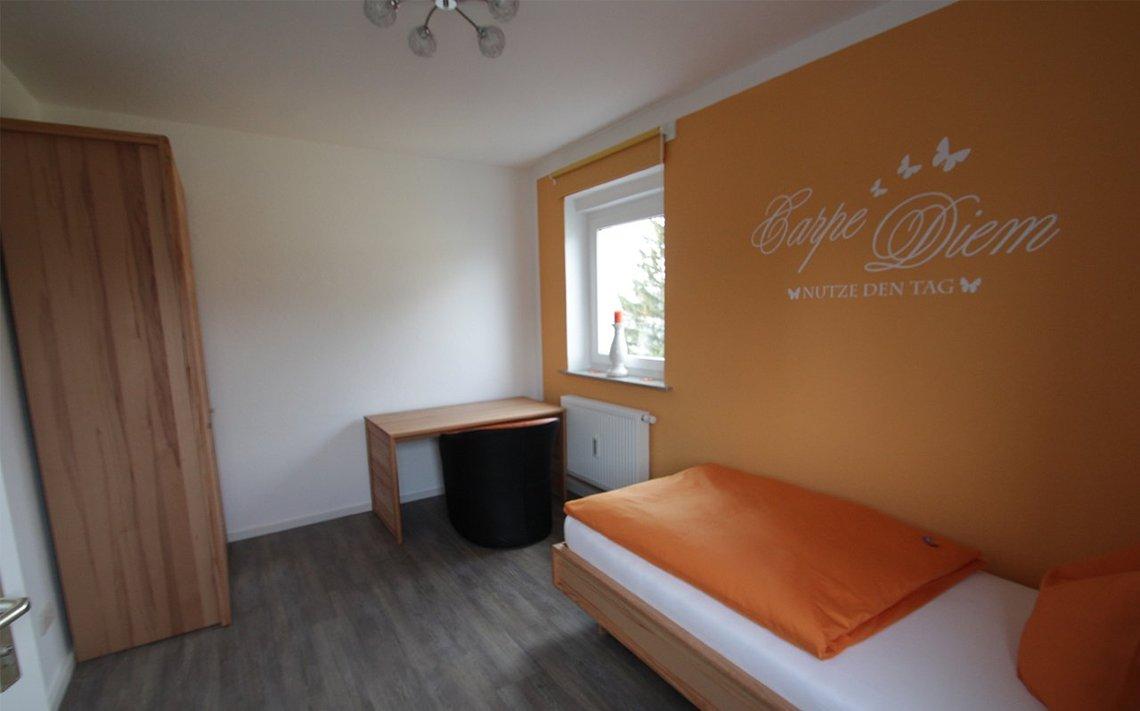 Bild des Einzelzimmers der Gästewohnung Park