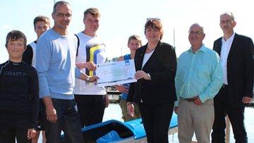 Baugenossenschaft unterstützt junge Sportler