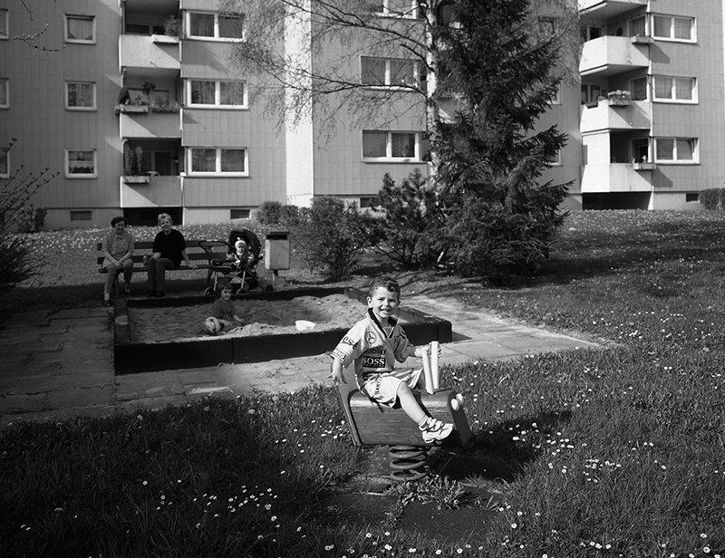 Bild vom Spielplatz in der Kösseinestraße