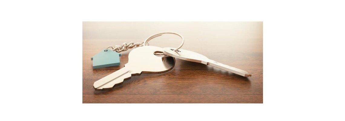 Bild eines Wohnungsschlüssels