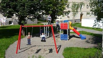 Bild des Spielplatz in der Stephanstraße