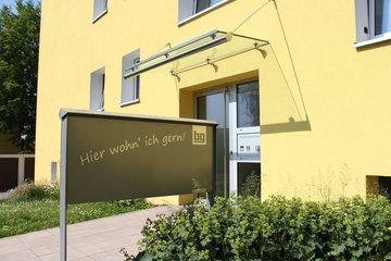 Bild vom Slogan Hier wohn' ich gern