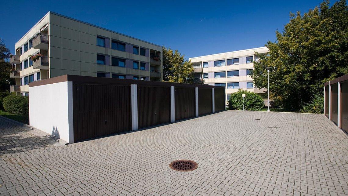 Bild von Garagen in der Dr.-Enders-Straße