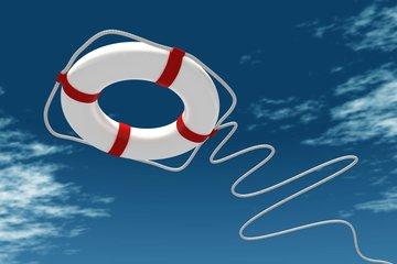 Bild eines Rettungsreifens