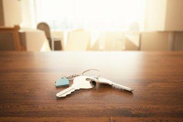 Bild von einem Schlüsselbund