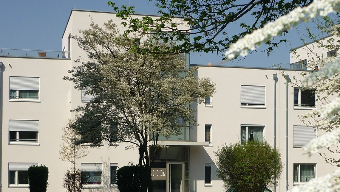 Bild vom Neubau in der Johann-Weiß-Straße