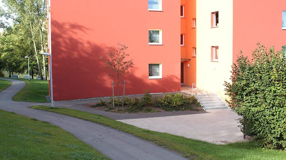 Bild der Wohnanlage im Heiligengrabfeldweg