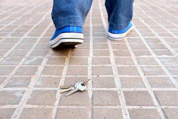 Bild von einem verlorenen Schlüssel