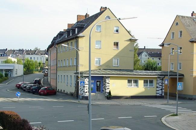 Bild der Leimitzer Straße/Ecke Jägerzeile von 2017