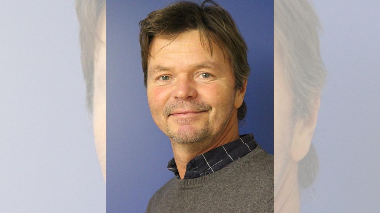 Bild von unserem neuen Mitarbeiter Herrn Jörg Riedel
