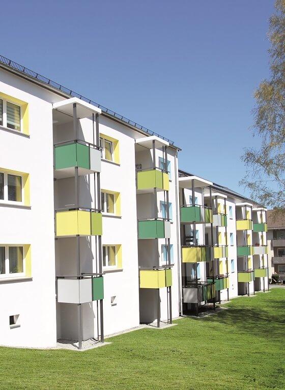 Bild der Modernisierung der Mozartstraße 1, 3, 5