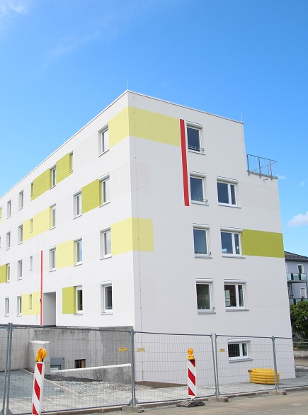 Bild unserer Neubaumaßnahme Johann-Weiß-Straße 14, 16, 18